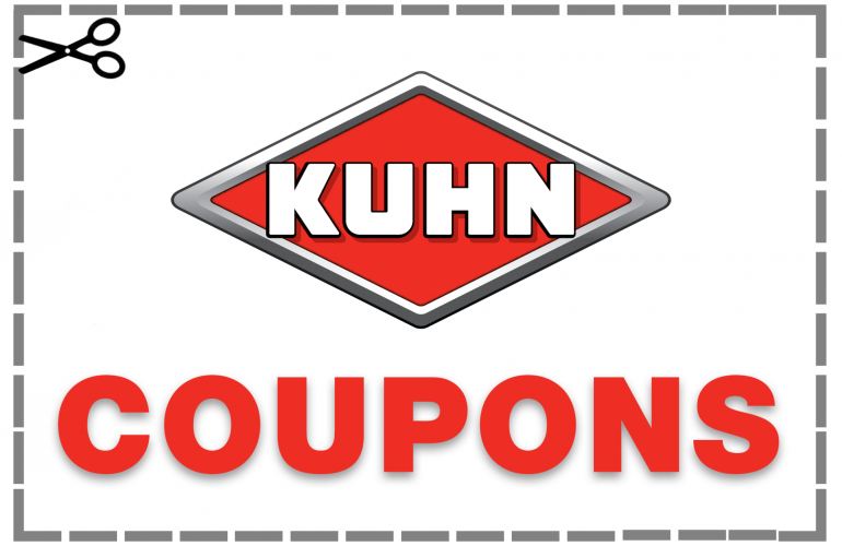 Kuhn logo with the word Coupons beneath.