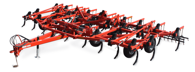 Silhouette of the KUHN Krause 4000 Chisel Plows