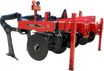 KUHN Krause 4830 in-line ripper on white background